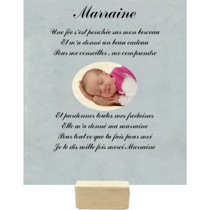 Plaque Marraine