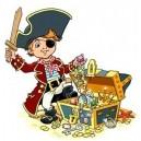 Etiquette pirate
