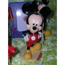 Grand Mickey rouge et noir 15 cm