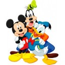 Etiquette Mickey et compagnie